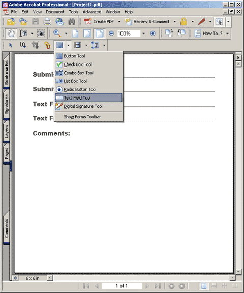 Pdf File On Form Submit